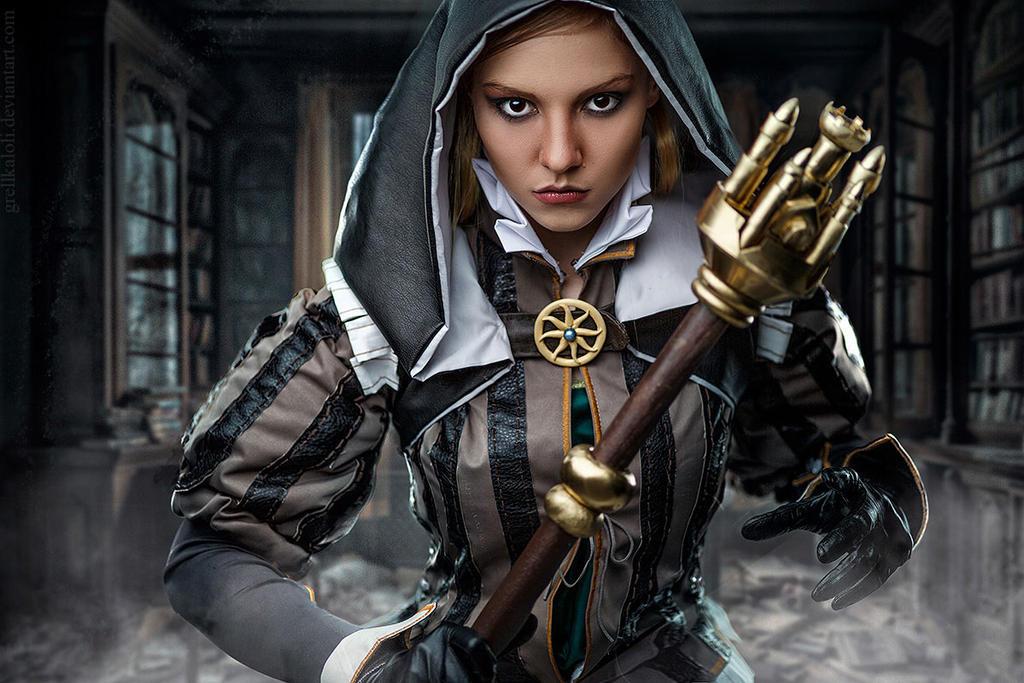 Grellka-LOLI Witcher Cynthia 5 by grellkaLoli
