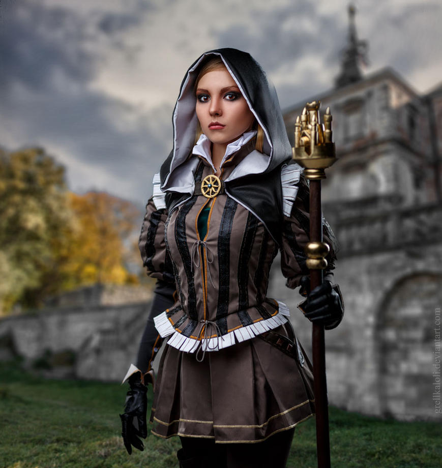 Grellka-LOLI Witcher Cynthia  6 by grellkaLoli