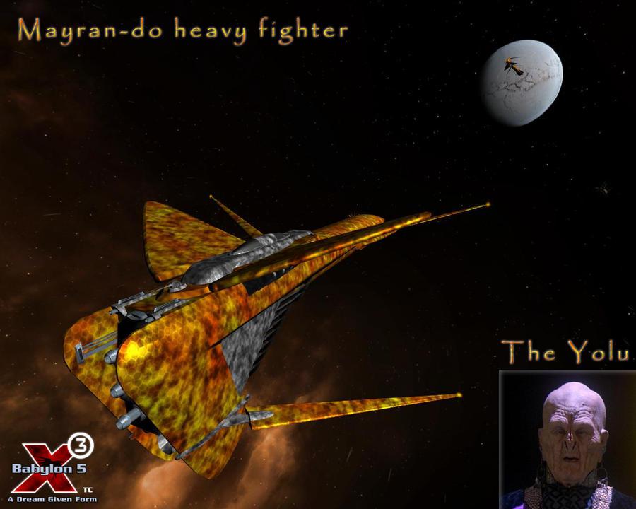 Mayran-do Heavy Fighter by SAVOTW