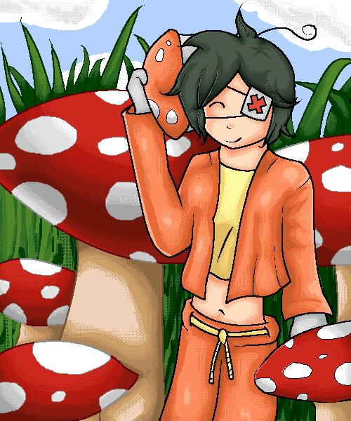 Mushroom Hunting - Fanart by Sarahrosedibbun