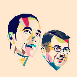Jokowi-JK WPAP by vector10
