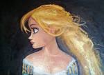 Rapunzel - 'Tangled' canvas