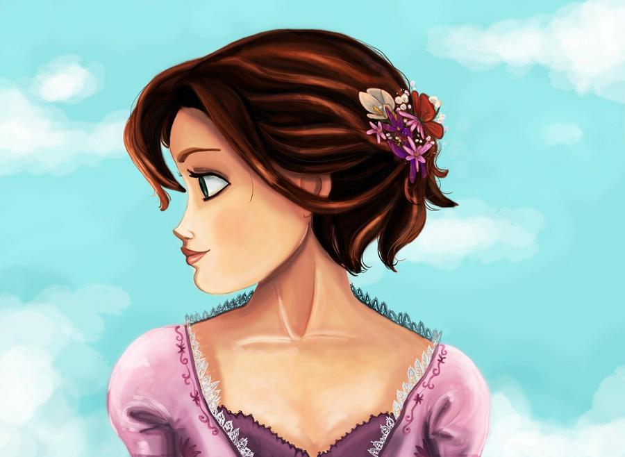 SPOILER: Princess Rapunzel by Arbetta