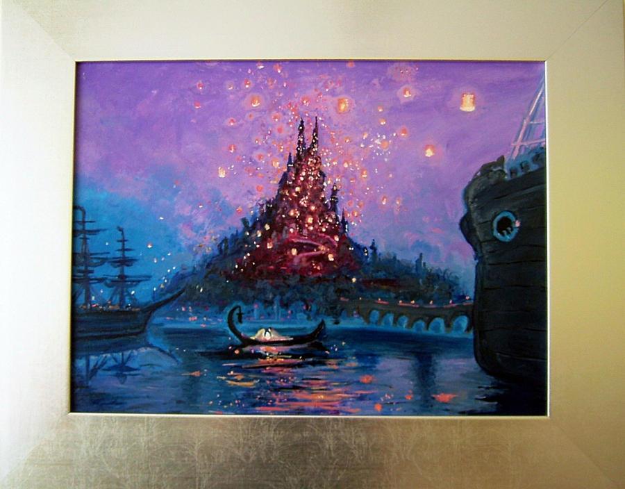 Rapunzel Lights Canvas By Arbetta On Deviantart