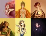 Greek goddesses II