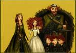 'Brave' Family portrait by Arbetta