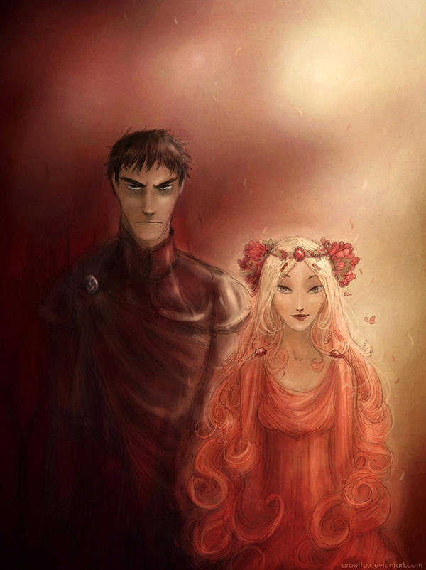 Hades and Persephone by Arbetta