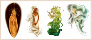 (More) Greek nymphs by Arbetta