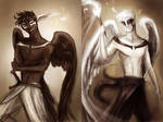 Thanatos and Hypnos