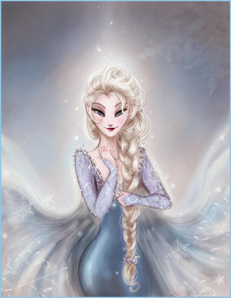 Queen Elsa by Arbetta