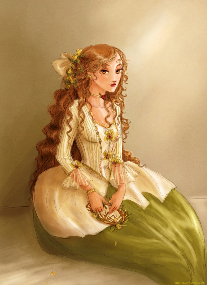 18th century Margaery Tyrell by Arbetta