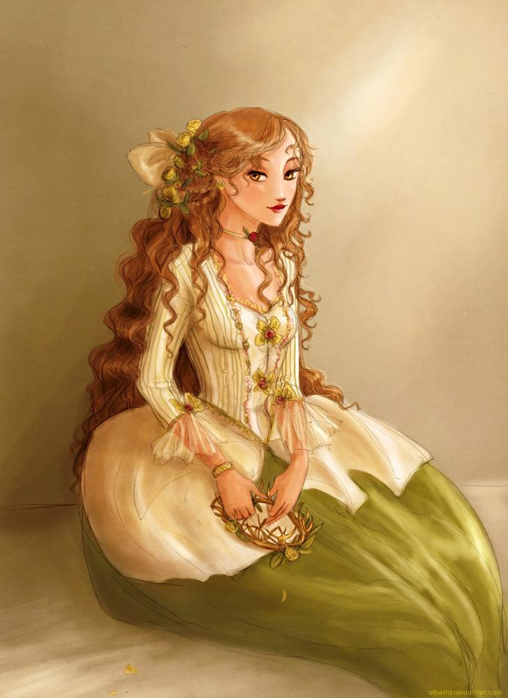 18th century Margaery Tyrell by Arbetta