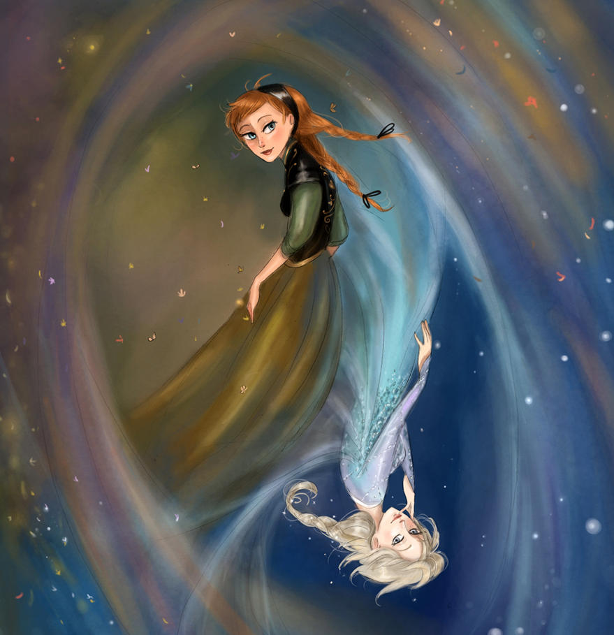 Sisters of Arendelle by Arbetta