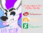 Vyn Badge (And Badge Commissions) by S0ULESSB0NES