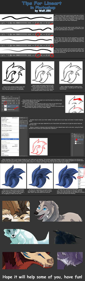 TUTORIAL: tips for lineart.