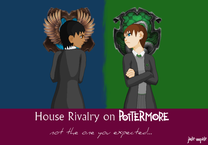 House Rivalry On Pottermore By Jade Oopale