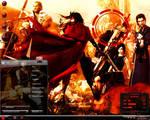Extreme Red Window 7 Desktop Theme