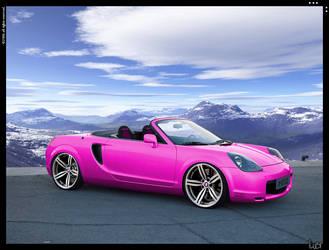 Pink MR2 Gti