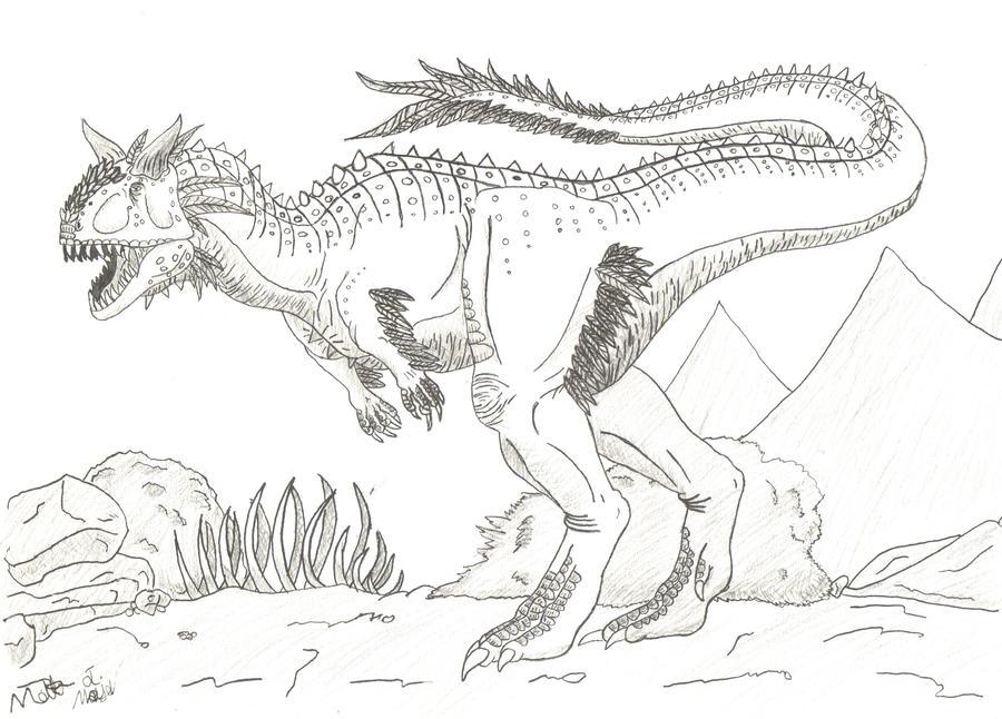 Carnotaurus By Dinoman87 On DeviantArt