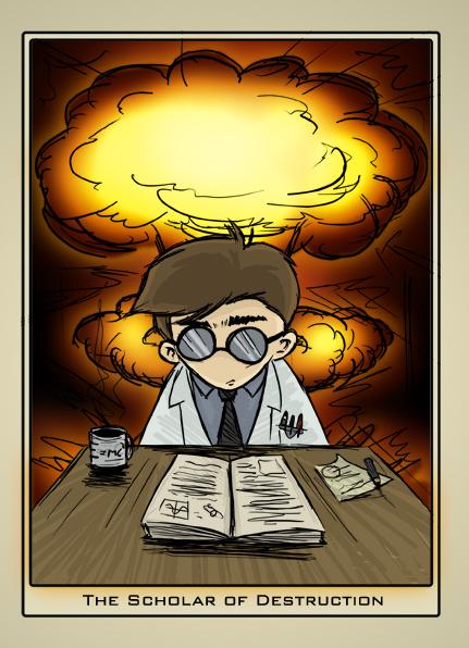 Scholar of Destruction by benhaith