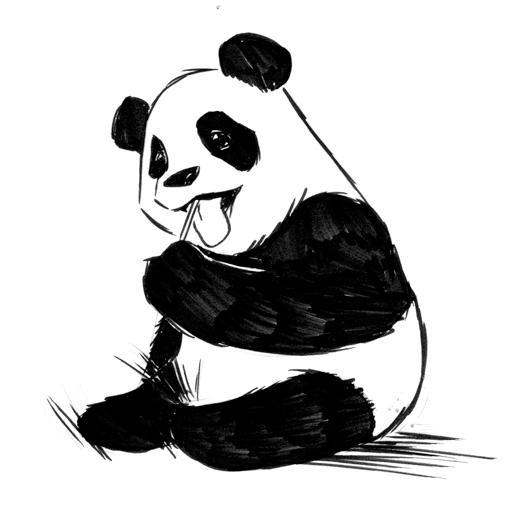 Panda by benhaith