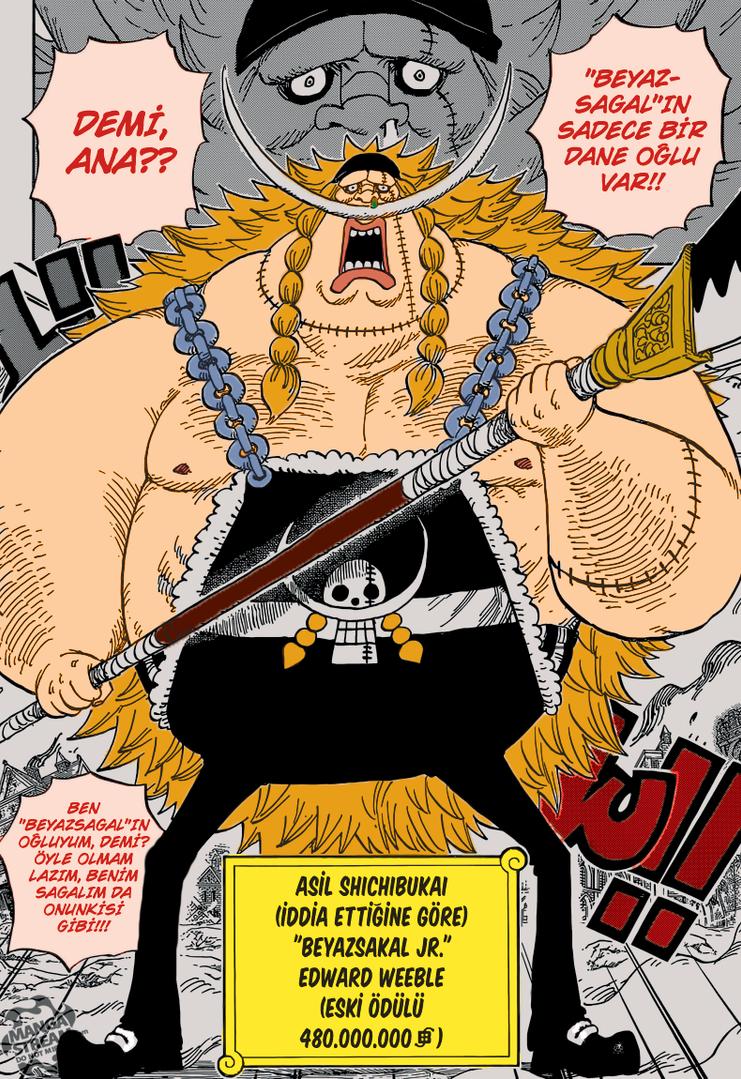 One Piece 802 Whitebeard JR. Edward Weeble by RSkystar