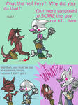 Fnaf silly comic - Foxys Pride part 1