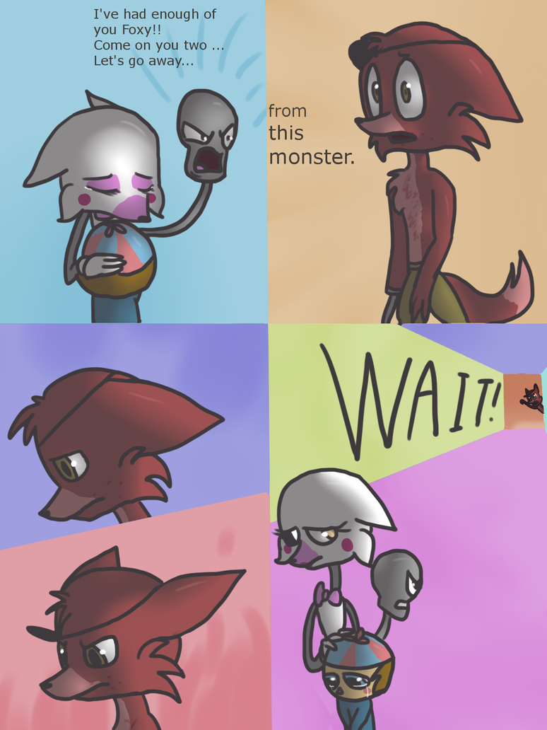 FNAF comic - New Animatronic - page 3 by sophie12320 on