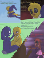 Fnaf silly comic - Foxys Pride part 25 by Maria-Ben
