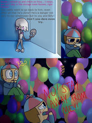 Fnaf silly comic - Foxys Pride 30 by Maria-Ben