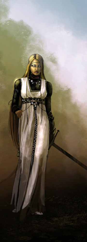 Girl from Ithlum by formenost