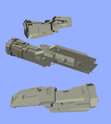 spaceship sketchup by formenost