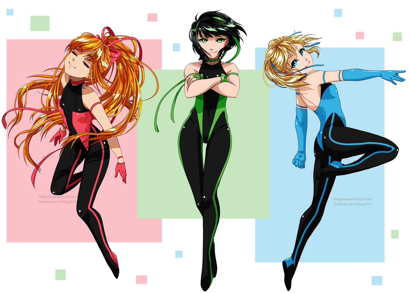 Adult girl manga powerpuff
