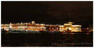 St.Petersburg at night