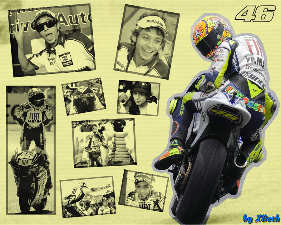 Valentino rossi wallpaper by xbeth42 on deviantart valentino rossi wallpaper by xbeth42 voltagebd Choice Image