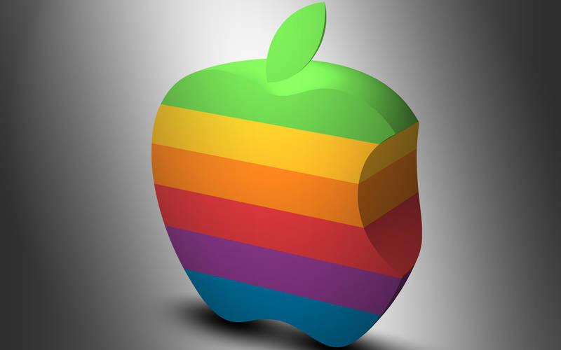 Old Apple Logo by Trandyuk