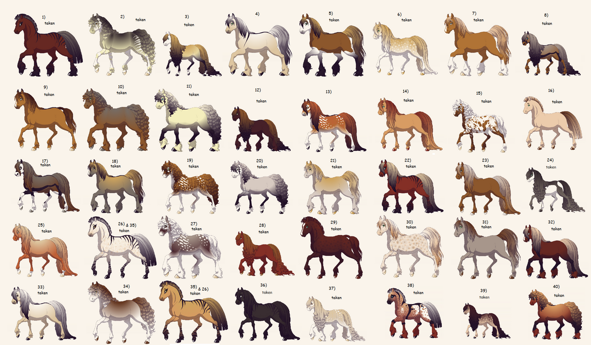 Free Horse Herd CLOSE By Lit Nebulosa On DeviantArt