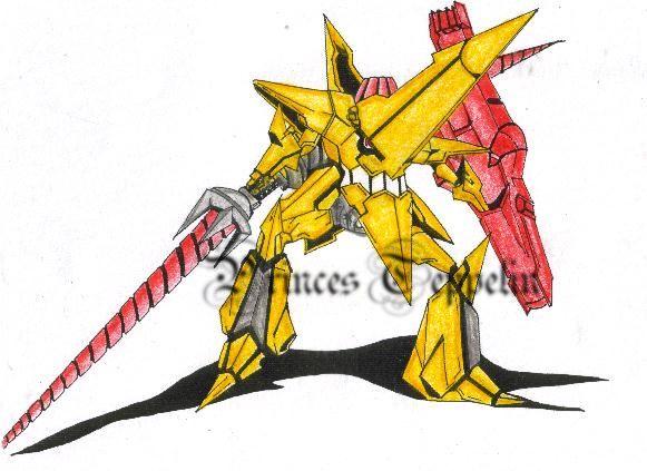 King Kittan-TTGL by PrincessTeppelin