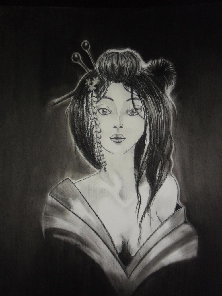 Geisha by PrincessTeppelin