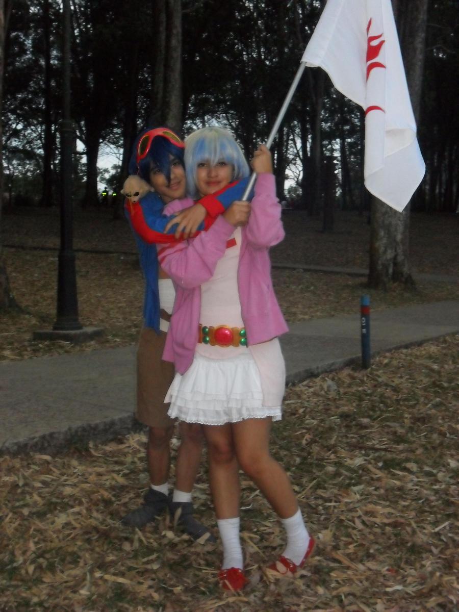 Nia and Simon by PrincessTeppelin