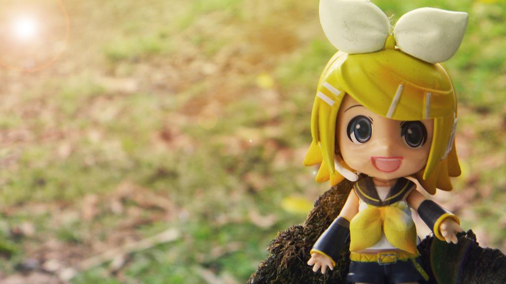 Kagamine Rin by PrincessTeppelin