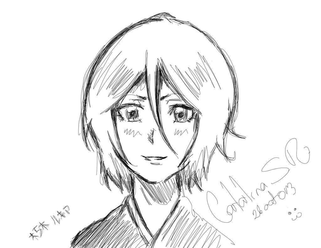 Rukia by PrincessTeppelin