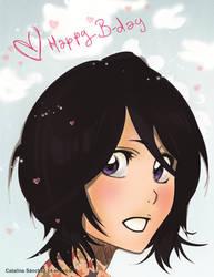Happy Birthday Rukia! by PrincessTeppelin