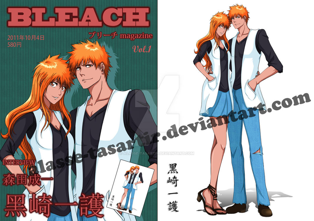 Bleach Gender bend Magazine by Alasse-Tasartir