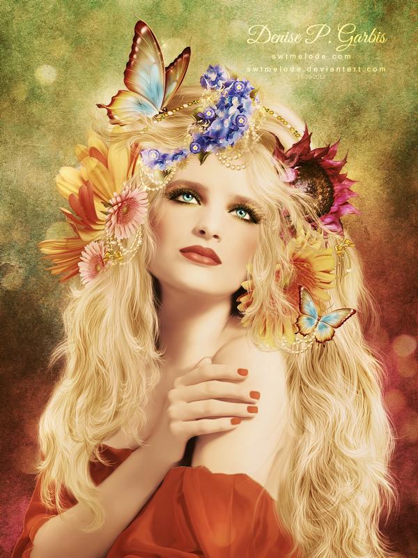Flower Child - Revised 2012 by DeniseGarbis