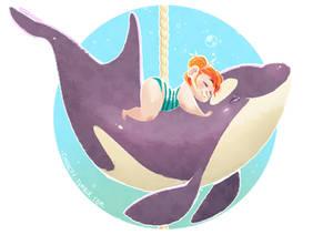 Cetacean Carousel - Orca Love