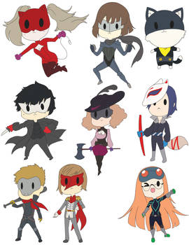 P5 Buttons