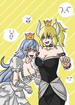 Boosette and Bowsette