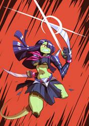 [Commission for Speedrobo] Ruehleia III by JulianVanist