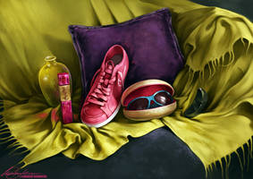 Still Life I by Charlie-Bowater